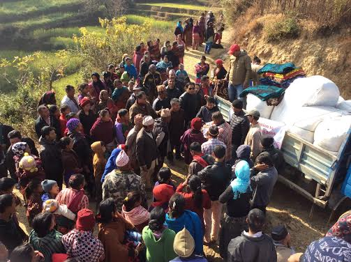 2015 Nepal Blankets x2